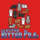Super Kitten Pile (Logo) by vgjunk