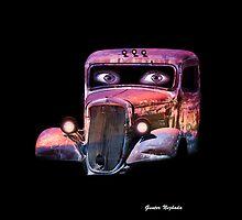 Pinup Car by Gunter Nezhoda