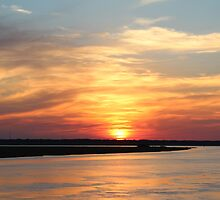Sunset at St Simons by Bob Hardy
