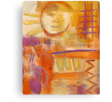 Vigilant Sun - WIP Canvas Print