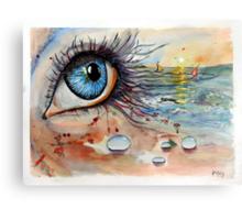 Blink of eyes - 6 Canvas Print