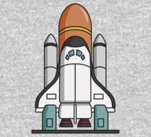 Space Shuttle by Del Parrish