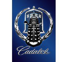 Cadalek in Tardis Blue Photographic Print
