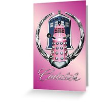 Pink Cadalek Greeting Card