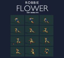 Robbie Flower, Melbourne (dark shirt) by Chris Rees