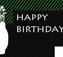 happy birthday golfer by maydaze