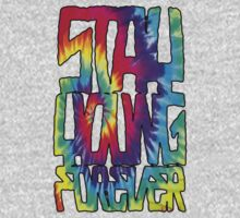 Stacked Tie Die by STAY YOUNG FOREVER By Alex Harris