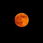 Super Duper Strawberry Moon. by Lee d'Entremont