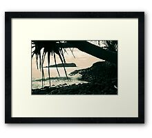 cook island dreaming ... Framed Print