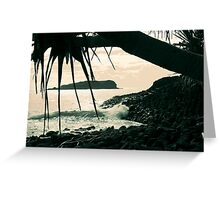 cook island dreaming ... Greeting Card