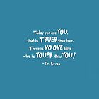 Dr. Seuss Youer than You by LadyTakara