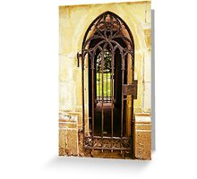 Door to Door Greeting Card
