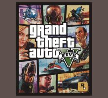 Grand theft Auto V 5 GTA cover by beukenoot666