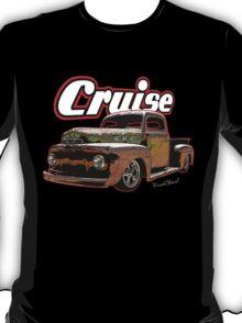 Rat Rod Pickup Cruise T-Shirt T-Shirt