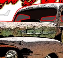 Ford Pickup Rat Rod T-Shirt Sticker