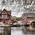 Folly Bridge, Oxford by Karen Martin IPA