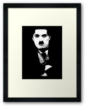 Charlie Chaplin  by Robin Brown