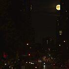 Manhattan Super Moon by DreamsOnSet