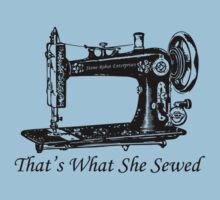 That's What She Sewed Kids Clothes