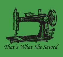 That's What She Sewed by StoneRobot