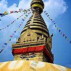 Boudhanath Stupa II by Valerie Rosen