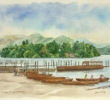 Derwentwater - Lake District by Lynne  Kirby