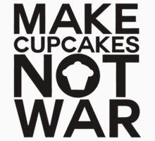 MAKE CUPCAKES NOT WAR Kids Clothes