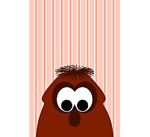 Silly Little Dark Red Monster Photographic Print