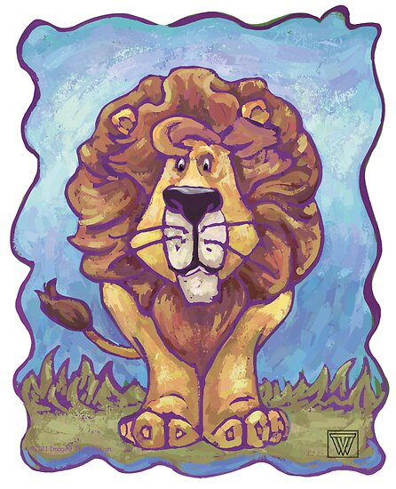 Animal Parade Lion by Traci VanWagoner