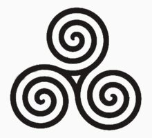Celtic Triple Spiral by timnock