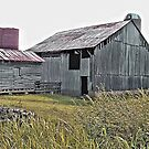 Nostalgic Old Barn ... the Back Side by © Bob Hall