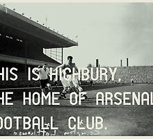 Arsenal Football Club by homework