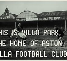 Aston Villa Football Club by Jim Roberts