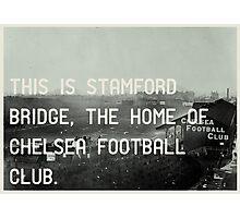 Chelsea Football Club Photographic Print