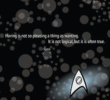 Spock Quote by Wingspan91089