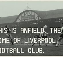 Liverpool Football Club by Jim Roberts