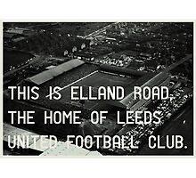 Leeds United Football Club Photographic Print