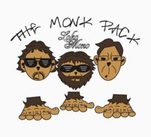The Monk Pack (Like The Wolf Pack from HangOver) by LokoMono