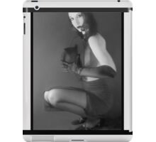 Cat Eyes - Self Portrait iPad Case/Skin