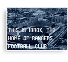 Rangers Football Club Canvas Print