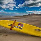 Lifeguards at Minnis Bay by Geoff Carpenter