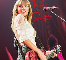 Taylor Swift Red Tour by gleviosa