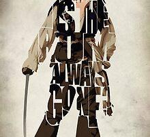 Captain Jack Sparrow by A. TW