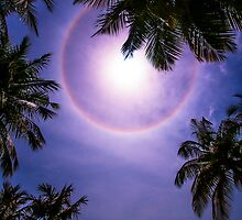 Sun Halo. Maldives by JennyRainbow