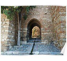 Alcazaba of Malaga Poster