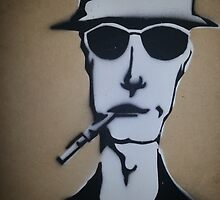 Fear and Loathing Stencil by acpollard