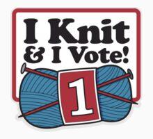 I Knit and I Vote! by samedog