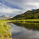 Bear River in the High Mountains by Alan Mitchell