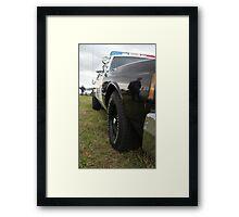 sheriffs car Framed Print