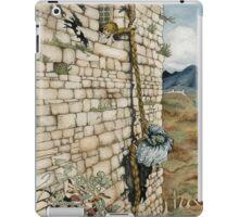 Watercolor Tribute to Arthur Rackham's Rapunzel iPad Case/Skin